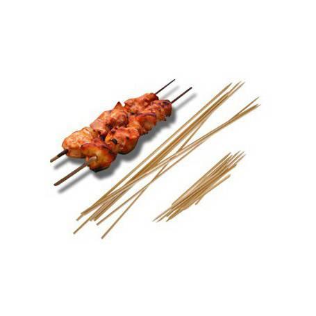 Brochette pique bois pour Barbecue - Pique en bois pour Brochette - Boucherie