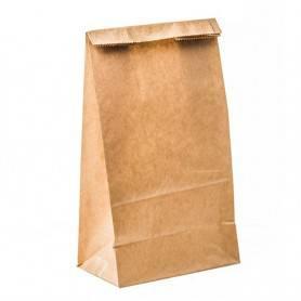 Sac SOS kraft brun - Emballage papier kraft brun - sac kraft brun pour vente à emporter