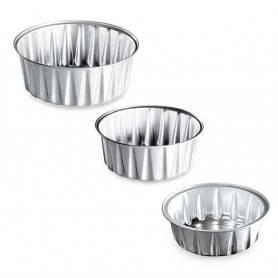 Ramequin aluminium rond - Ramequin rond jetable aluminium - Ramequin cuisine rond