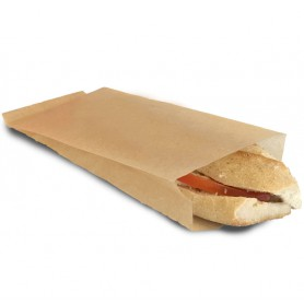 Sac sandwich Grill bag pour panini spécial cuisson - emballage snack vente à emporter