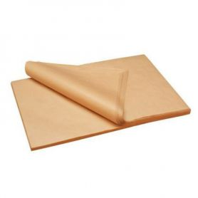 Papier kraft brun ingraissable thermo pour viande, fromage, snacking, burger