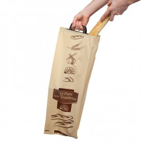 Sac pain porteur PEBD - Sac à pain baguettes et pains - Emballage boulangerie