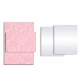 Papier duplex blanc ou fond paralios