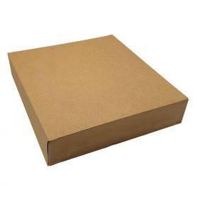 Boîte pâtissière kraft brun boite gateau écologique