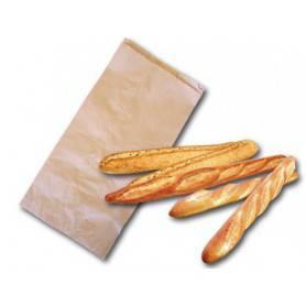 Sac kraft regroupement pain et baguette - emballage boulangerie