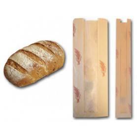 sac à pain avec fenêtre transparente - sac boulangerie pain