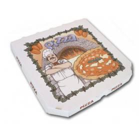 Boîtes à pizza PPT micro-cannelure - Boîte Pizzeria et vente-à-emporter