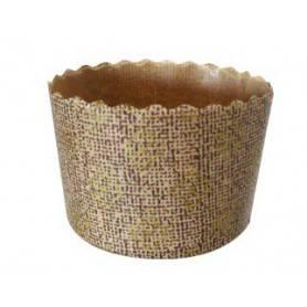 Moule mini panettone en papier - emballage pâtisserie