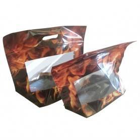 Sac poulet rôti avec zip poignée - Sac poulet Rôtisserie - Emballage Rôtisserie