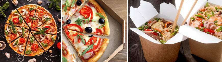 Fournisseur Emballage Pizzeria, Bar à pâtes - EmballageFuté